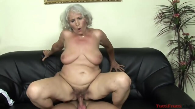 big tits Naughty Granny, Norma Likes To Hook Up With Some Younger Guy And Have Sex With Him blonde