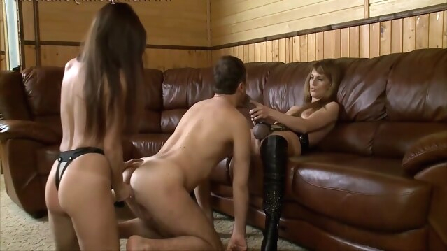 anal Olga Barz in 2 Russian Ladies With Big Strapons brunette